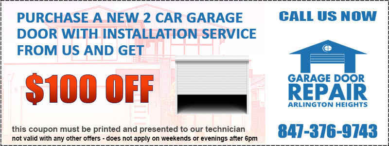Garage Door Installation Special