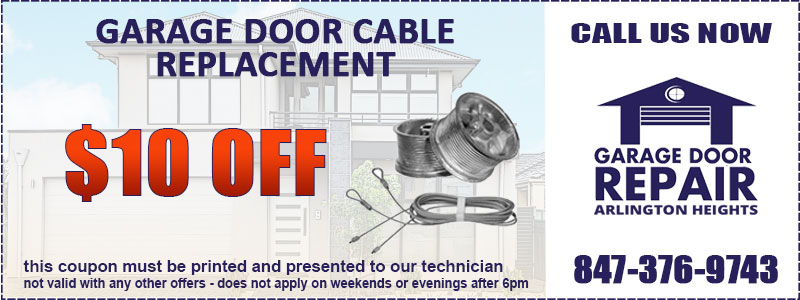 Garage Door Cable Coupon
