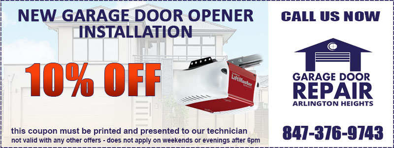 Garage Door Opener Coupon
