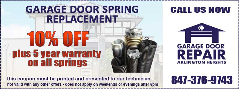 Garage Door Spring Coupon